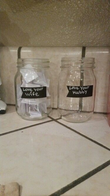 Love quote and saying : Fill your jar with ways that your