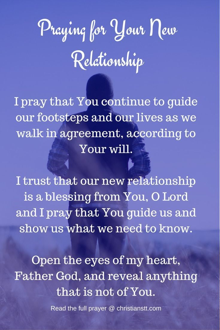 Love quote and saying : Praying for Your New Relationship ...