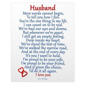 Love quote and saying : Husband Love Plaque - Top Quotes ...
