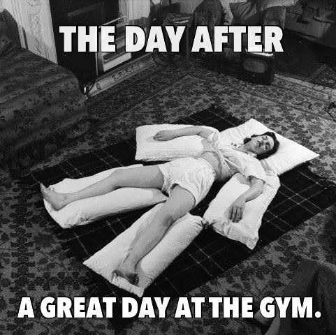 Trust Quotes : Yesterday was leg day..today was yoga...now ...