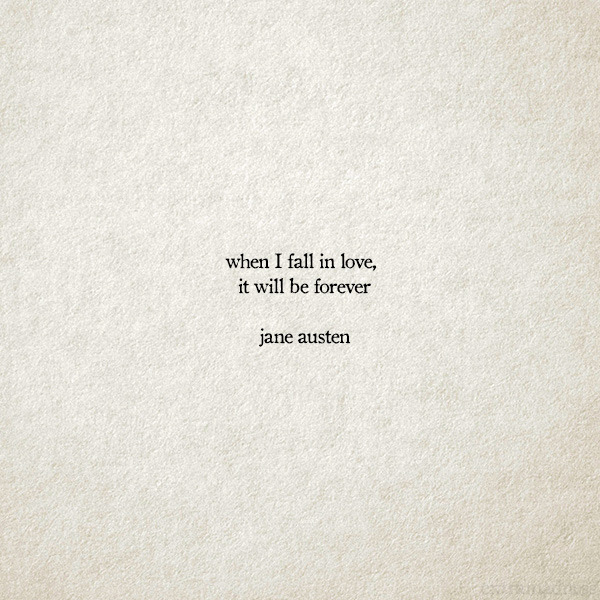 Quotes En 3 Word When I Fall In Love It Will Be Forever Top